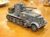 Halbketten Fahr Zeug Mit 88mm Panzer Kannon
